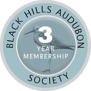 Audobon Membership Badge 3 year